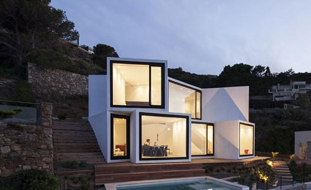 Casa Girasol, Port De la Selva, Gerona - Cadaval & Solà-Morales