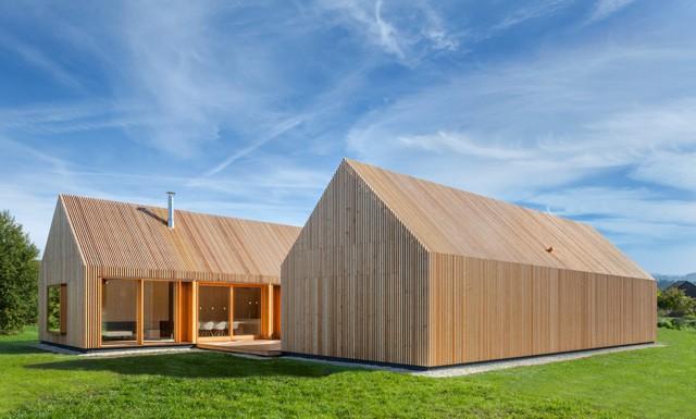Alemania: Casa de Madera, Neumarkt in der Oberpfalz - Kühnlein Architektur