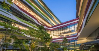 Singapur: Campus de la 'Singapore University of Technology and Design' - DP Architects + UNStudio