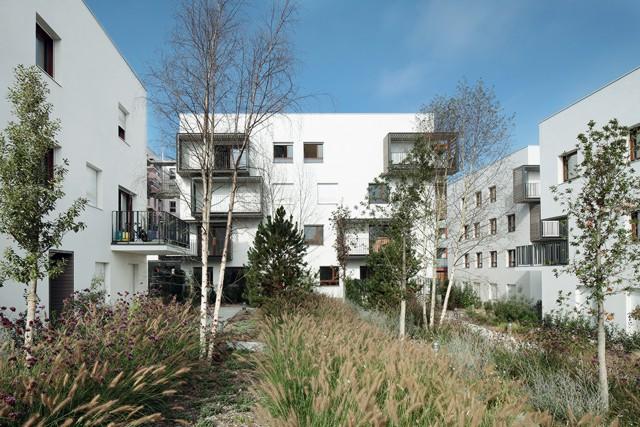 Francia: Eco-Quartier Carnot-Verollot, Ivry-sur-Seine, París - ARCHIKUBIK