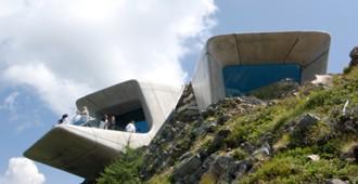 Italia: 'Messner Mountain Museum Corones' - Zaha Hadid