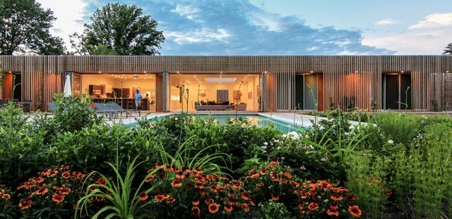 Estados Unidos: Meadow House - Office Mian Ye