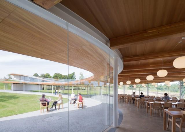 Estados Unidos: 'River Building', Grace Farms, Connecticut - SANAA