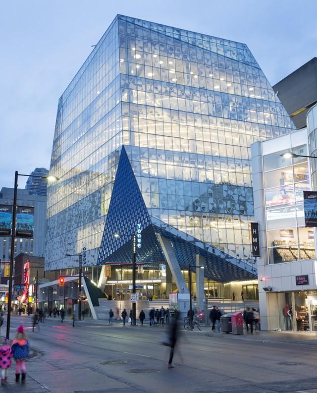 Canadá: Ryerson University Student Centre, Toronto - Snøhetta