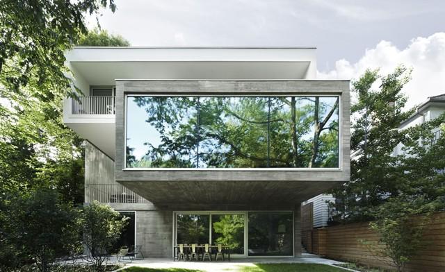 Canadá: 'Concrete House', Toronto - Angela Tsementzis Architect