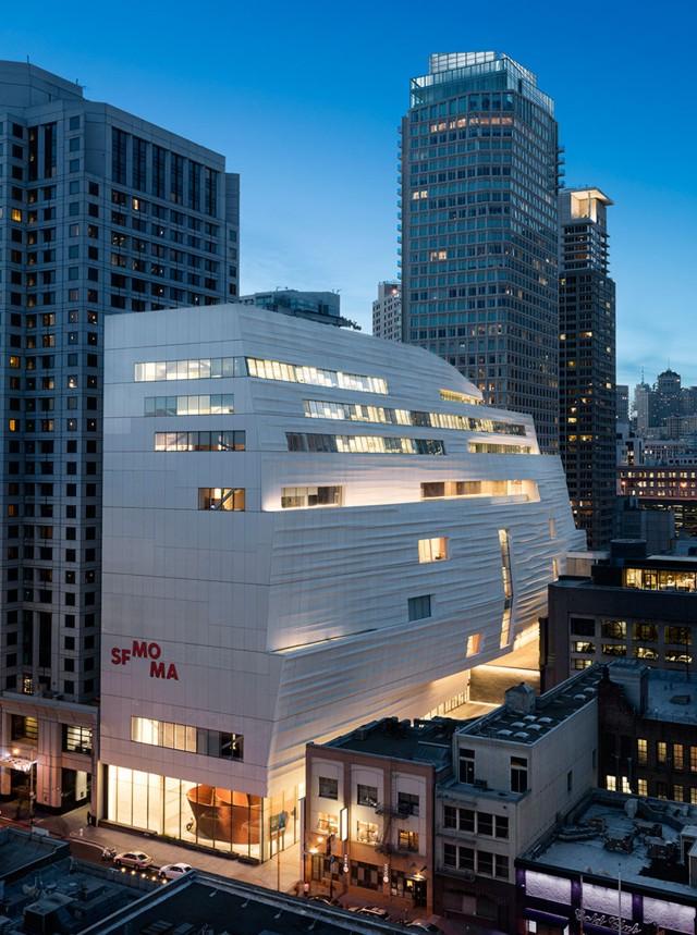 La ampliación del San Francisco Museum of Modern Art de Snøhetta lista para su inauguración