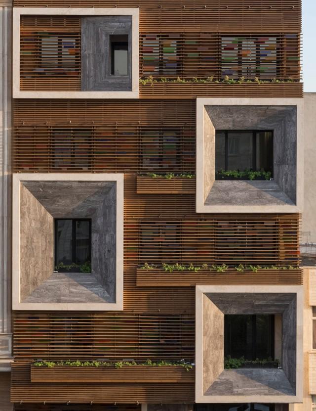 Irán: Edificio de departamentos Orsi Khaneh, Teherán - Keivani Architects