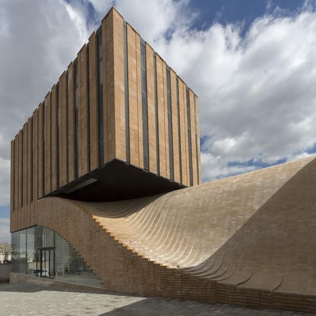 Irán: Edificio de Oficinas Termeh, en Hamedán, diseñado por Farshad Mehdizadeh Architects + Ahmad Bathaei