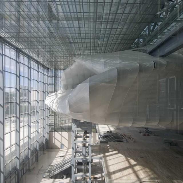 Italia: Nuevo Centro de Congresos Roma EUR - Studio Fuksas.. Imágenes de las obras