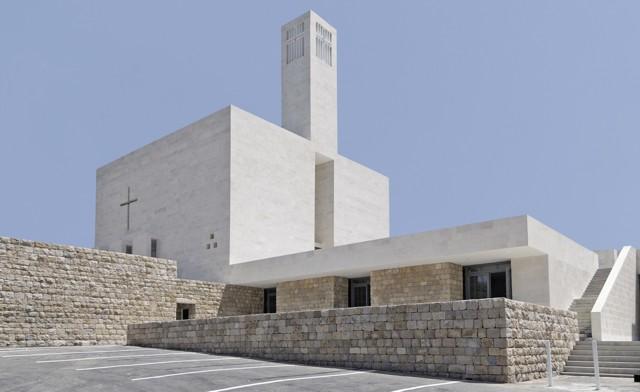 Libano: Iglesia Maronita, en Chouf - Maroun Lahoud Architecte