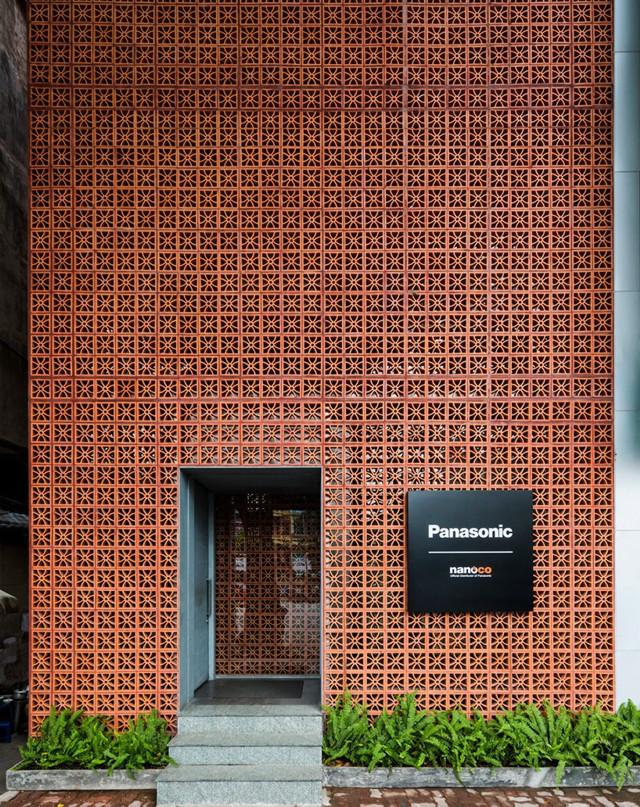Vietnam: Showroom de Panasonic en Hanoi - Vo Trong Nghia Architects