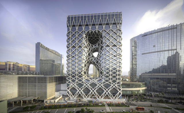 China: Hotel Morpheus, Macao - Zaha Hadid Architects