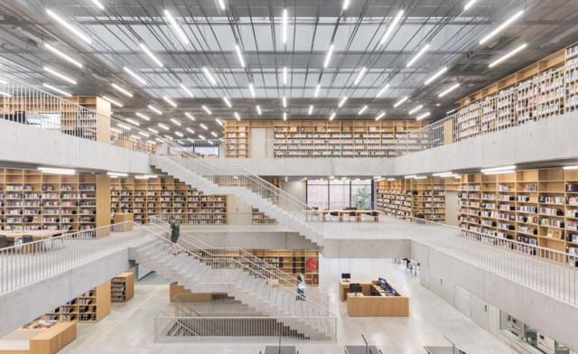 Bélgica: Utopia - Biblioteca Municipal y Academia de Artes Escénicas, Aalst - KAAN Architecten
