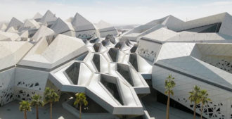 Video: KAPSARC - King Abdullah Petroleum Studies And Research Center, Riyadh, Arabia Saudita - Zaha Hadid Architects