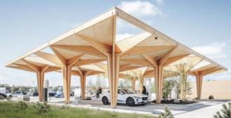 Dinamarca: Estación de carga para autos eléctricos - COBE Architects