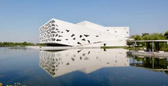 China: Ópera de Hangzhou Yuhang - Henning Larsen Architects