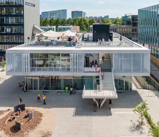 Holanda: Instituto Sandberg y Academia Gerrit Rietveld, Amsterdam - Studio Paulien Bremmer + Hootsmans Architects
