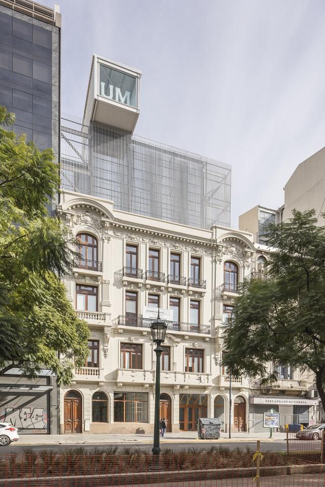 Argentina: Sede Central Universidad de Morón, Buenos Aires - Estudio Borrachia