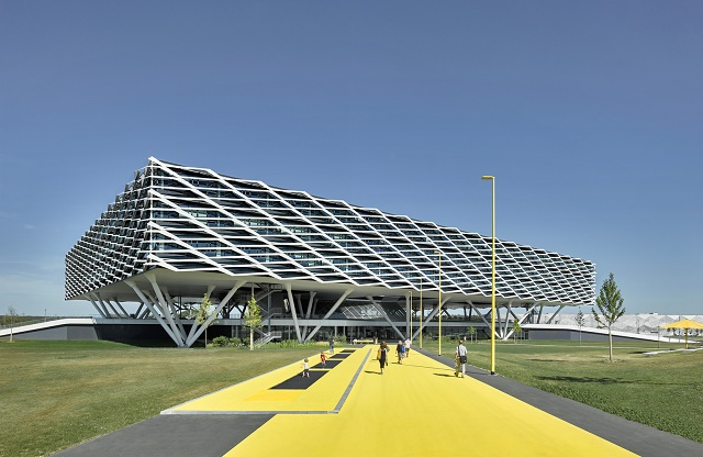 Alemania: Adidas World of Sports Arena - Behnisch Architekten