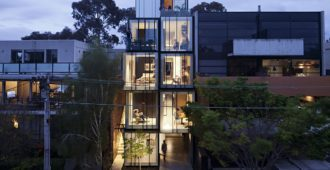 Australia: Wellington St Mixed Use, Melbourne - Matt Gibson Architecture + Design