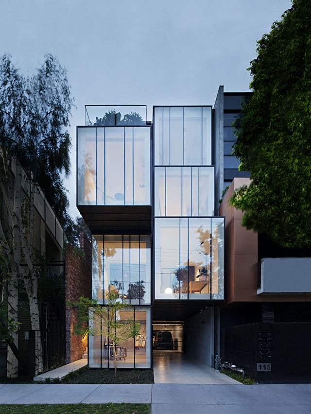 Australia: Wellington St Mixed Use, Melbourne - Matt Gibson Architecture + Design