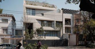 México: Edificio Tennyson 205, Ciudad de México - Studio Rick Joy
