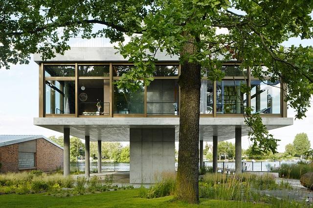 Alemania: Casa sobre el rio Spree - Tanja Lincke Architekten