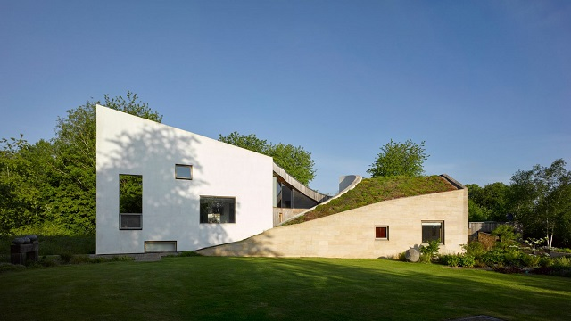 Inglaterra:'Stonecrop House' - Featherstone Young