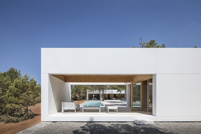 España: Casa en Sant Mateu d'Albarca, Ibiza - Marià Castelló Architecture