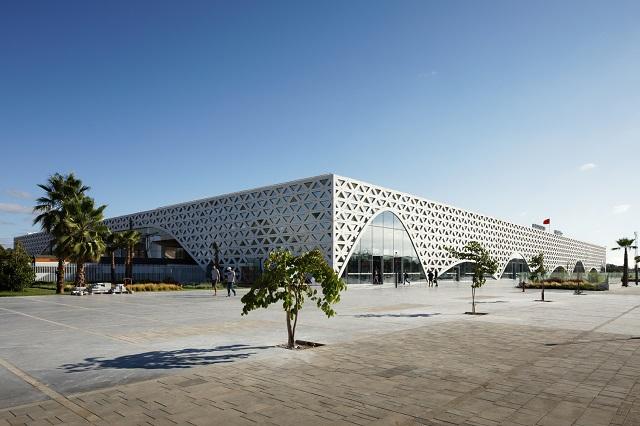 Marruecos: Estación ferroviaria de Kenitra - Silvio d'Ascia Architecture + Omar Kobbité Architectes