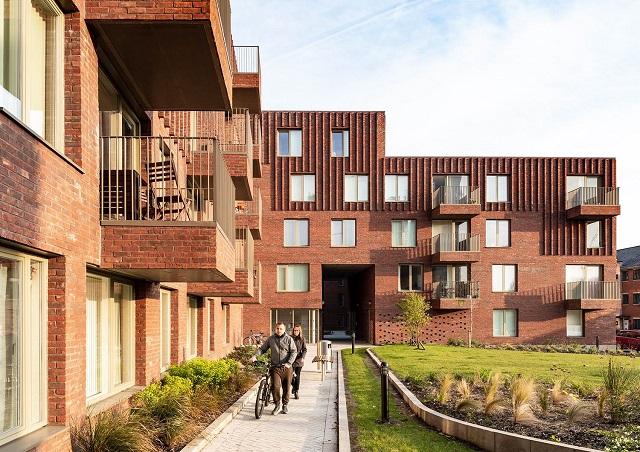 Reino Unido: Hulme Living Leaf Street Housing, Manchester - Mecanoo
