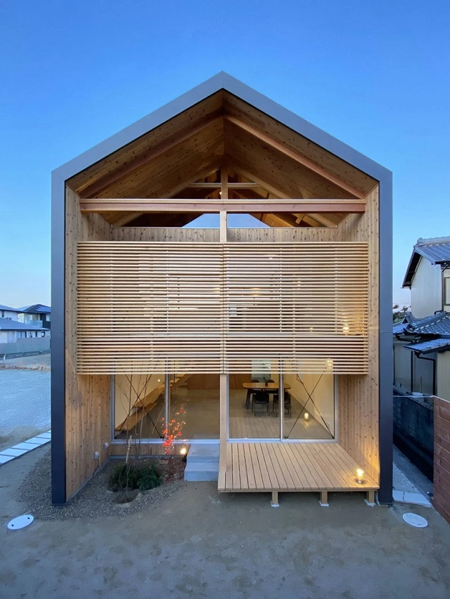 Japón: Casa en Higashi Kakogawa - atelier thu