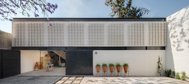 México: Casa Estudio Pallares - Vrtical