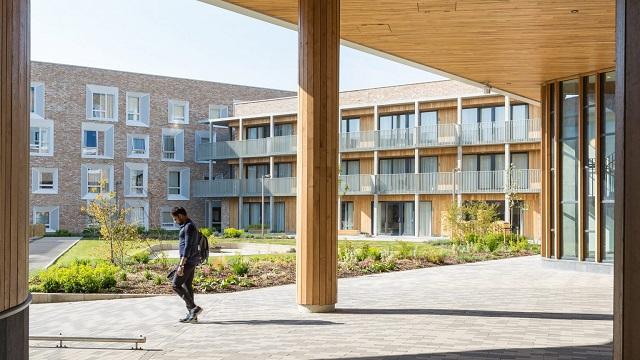 "Reino Unido: ""Key Worker Housing"", Universidad de Cambridge - Mecanoo"