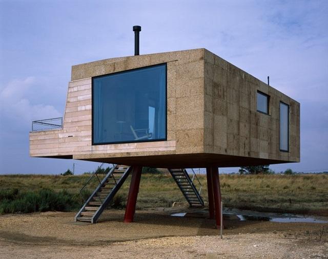 Inglaterra > Vivienda para el artista Marcus Taylor - Lisa Shell Architects