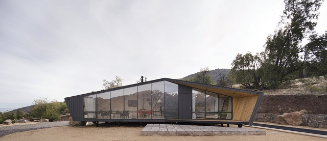 Chile: Refugio para un Montañista - Gonzalo Iturriaga Arquitectos