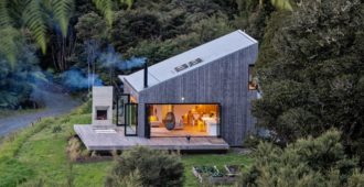 Nueva Zelanda: Back Country House - LTD Architectural Design Studio