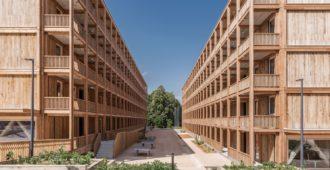 Suiza: Centro de refugiados de Rigot - acau architecture