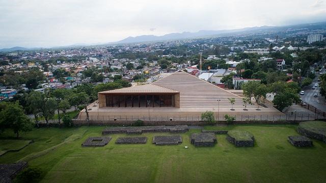 México: Centro Cultural Teopanzolco - Isaac Broid + PRODUCTORA