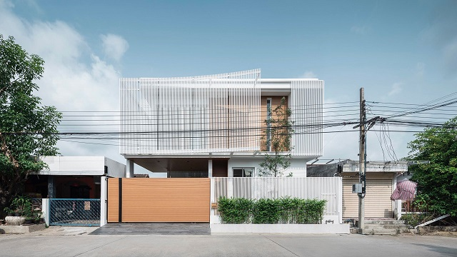 """Tailandia: """"House Enfold"""" - TOUCH Architect"""