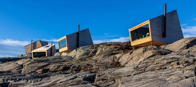Noruega: Cabañas en Sveio - Holon Arkitektur
