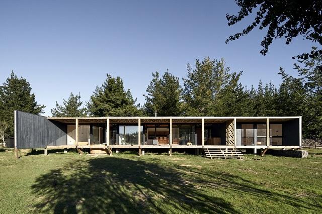 Chile: Casa Barra - Ossa Valdes Arquitectos