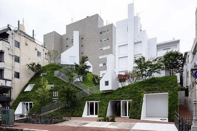 Japón: Hotel Shiroiya - Sou Fujimoto Architects