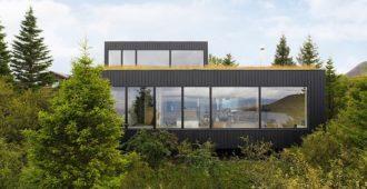 Islandia: Casa de vacaciones en Þingvallavatn - KRADS Architecture