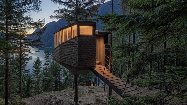 Noruega: Cabaña Woodnest - Helen & Hard