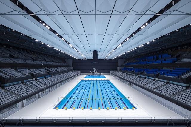Japón: Centro Acuático de Tokio - Yamashita Sekkei + Cox Architecture